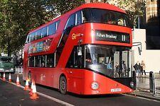 New bus for London - Borismaster LT57 6x4 Quality Bus Photo