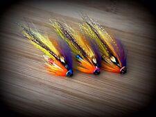 Salmon Flies, 3 x The Nessie Dart Tubes.. Rainbow Tube And  Sonic Disc.
