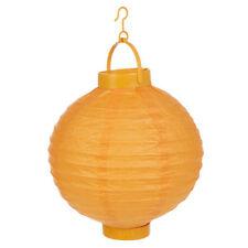 Décorations de fête lanternes jaune pour la maison