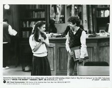 ALYSSA MILANO CUTE SMILING ADAM CARL WHO'S THE BOSS ORIGINAL 1987 ABC TV PHOTO