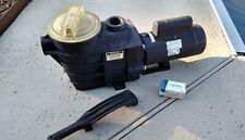 New listing Hayward Super Pump Ii w/Century Uct1102 Energy Saving 1Hp Pump 115/230v