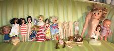 Antique Vintage Dolls Vogue Ginny Celluloid Parts R 00004000 epair Heads Crafting Creepy