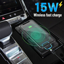 15W Car Mount Qi Wireless Charger Phone Holder Fast Charging For IOS/Android