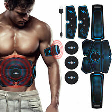 Magic ABS EMS-Bauchmuskel Sixpack Muskeltrainer Fitness Fernbedienung Gelb DHL