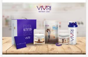 Vivri Esencial Nutrition System Vanilla Extravagance/Power me Caffe Late