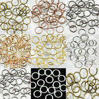 Wholesale 4-14mm Jump Open Rings Connector Charm Jewelry Making Finding DIY Gift
