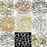 Wholesale 4/5/6/8/10/12/14mm Jump Rings Open Connectors Charms Jewelry Findings