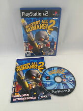 Sony Playstation 2 PS2 - Destroy All Humans 2