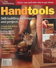 Hand Tools Skill Building Techniques Projects Pro Tips 2014 FREE SHIPPING!