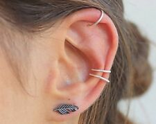 UK Silver Nose Ring Hoop 6mm Extra Small 0.6mm Thin Cartilage Earring Jewellery