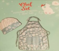 Kids Chef Set of Apron & Hat New in Box
