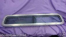 "Boat Marine Tinted Glass Sliding Port Window with Sliding Screen 9"" X 38"" Single"