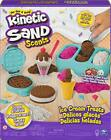 Kinetic Sand Scents Ice Cream Treats Playset 3 Colors 6 Serving Tools Jan.1,21