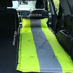 Inflatable Mattress Car Travel Bed Cushion Single Back Seat Air Mat Sleep Camp
