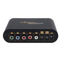 Adapter Converter VGA + Component Video YUV + Audio to VGA