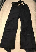 Mens Columbia Black Nylon Snow Ski Snowboard Winter Pants Size Large SC8
