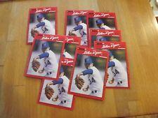 1990 DONRUSS #166 NOLAN RYAN LOT OF 9 MINT cards