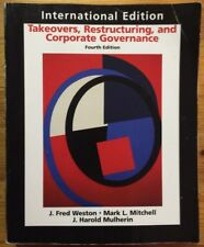 Takeovers, Restructuring, and Corporate Governance 4th International Edition