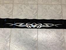Fascia fascione Banda parasole parabrezza adesivo esterno tribale nera nero