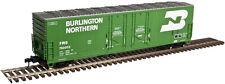 Atlas O 3002318-1 Burlington Northern 53' Evans Double Plug-Door Box Car 2-rail