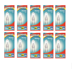 10x G4 Halogen Capsule Bulbs Replace Bulb Light Lamp Warm White 232 14W(20W) 12V