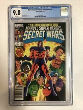 Secret Wars (1984) # 2 (CGC 9.8 WP) Canadian Price Variants (CPV) Only 2 Cgc !