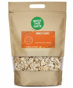 Barley Flakes    GMO Free   Vegan   Dairy Free   No Added Sugar