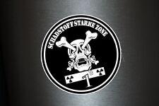 1 x Aufkleber Umweltplakette Feinstaubplakette SCHWARZ Kleber Shocker Sticker