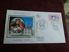 Enveloppe Premier Jour Soie 1988 Palais Ducal Nevers Philex  First Day Cover