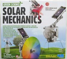 Green science Solar MECHANICS Kit educativo da Kidz Labs 4m-NUOVO E SIGILLATO!