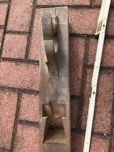 großer alter Grundhobel ohne Eisen Hobel XL 60cm Holz Sammler Hobel?