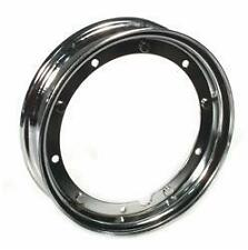 Chrome SIP split wheel rim  Vespa PX 125 150 200 LML Star T5 rally 10""