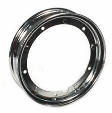 "Chrome SIP split wheel rim  Vespa PX 125 150 200 LML Star T5 rally 10"""