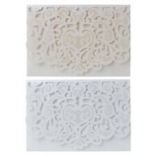 10pcs 3D Pop up Wedding Invitation Cards Laser Cut with envelope for Wedding