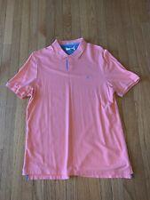 Penguin by Munsingwear Men's Size XL X Large Polo Shirt Peach Classic Fit (EUC)