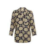 Monsoon Goldie Vintage Style Navy And Gold Jacket Size 14 Bnwt