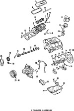 OEM Genuine Performance Hydraulic Valve Roller Lifter 1986-2014 17122490