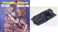 1/35 Resin WWII Wounded Dead German 2 Soldiers Unpainted Unassembled QJ066