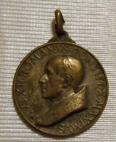 Pope Venerable Pius XII sterling silver medal 22 mm