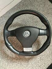 VW GOLF MK5 GTI FLATBOTTOM STEERING WHEEL & AIRBAG VW T5