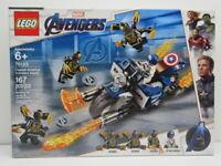LEGO Marvel Avengers Captain America Outriders Attack 76123 Brand New