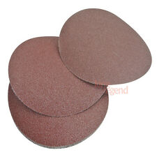 "10pcs Sand Disc Paper Random Orbit Hook and Loop Backing 6"" 60 Grit No Hole"