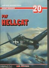 F6F Hellcat  AJ PRESS Aircraft Monograph, English edition! HARDBACK!