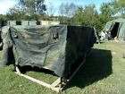 MILITARY SURPLUS CAMO TRUCK COVER 8 x13.5 x 3  5 TON -NOT MTV SERIES,M923 ? ARMY