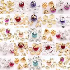 LOTS 300PC Flower Shape Loose Bead Caps Jewelry Findings Handmade Crafts DIY HOT