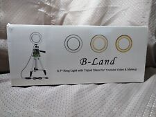 "B-Land 5.7"" Ring Light With Tripod"