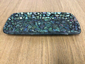 Handcrafted Paua Shell New Zealand Serving Tray