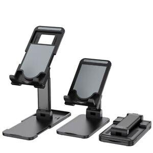 Adjustable Mobile Phone Holder Foldable Tablet Desktop Desk Stand Mount Cradle