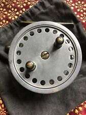 """Vintage 4""""  """"THE HARDY- DECANTELLE"""" MARK 1 Centrepin Reel by HARDY. Carp Barbel"""