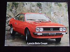 Prospekt Lancia Beta Coupé 1976